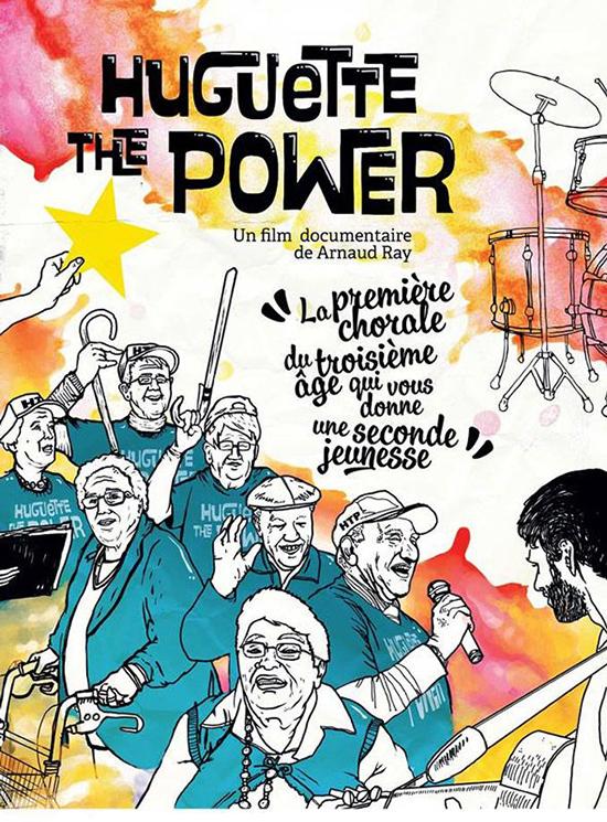 Huguette the power